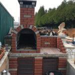 Grillplatz Bau