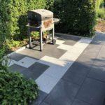 Grillplatz Terrasse aus Stein