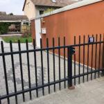 Tor für Einfahrt