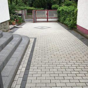 Hofeinfahrt Pflasterung
